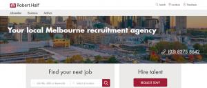 robert half recruitment agency in melbourne
