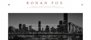ronan fox lawyers in brisbane