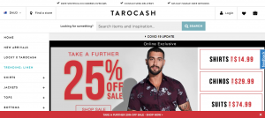 tarocash mens clothing in adelaide