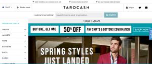 tarocash men's clothing in sydney