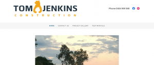 tom jenkins construction in newcastle