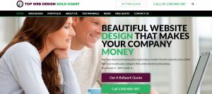 top web design in gold coast