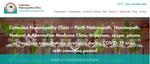 cottesloe naturopathic clinic in perth