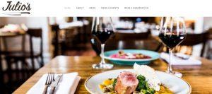 julio's italian restaurant in perth