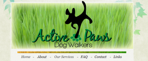 active dog walkers in perth