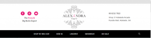 alexandra lingerie and sleepwear in adelaide