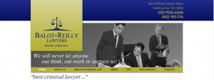balot reilly lawyers in melbourne