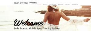 bella bronzed tanning in sydney