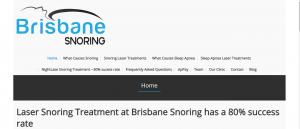 brisbane snoring sleep clinic