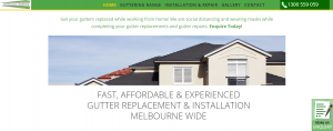 continuous guttering in melbourne