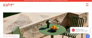 cult design furniture in melbourne