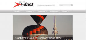 delfast couriers in canberra