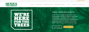 dickies tree service in perth