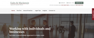 eales and mackenzie lawyers in melbourne