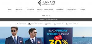 ferrari formal wear and bridal wear in melbourne