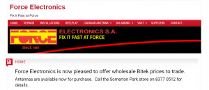 force electronics in adelaide