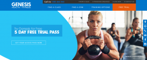 genesis gym in newcastle