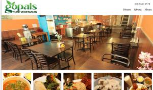 gopals vegetarian restaurant in melbourne