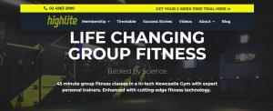 highlite gym in newcastle