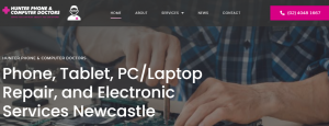 hunter phone and computer doctors in newcastle