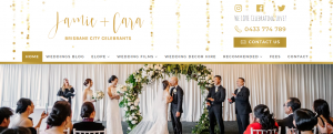 jamie and cara marriage celebrants in brisbane