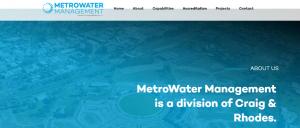 metrowater management in sydney