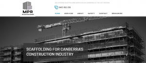 mpr scaffolding in canberra
