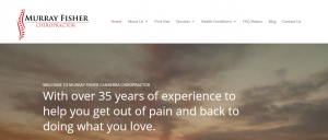 murray fisher chiropractor in canberra