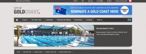 nerang aquatic centre in gold coast