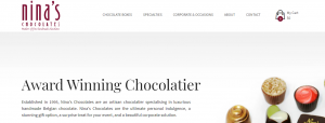 nina's chocolates in sydney
