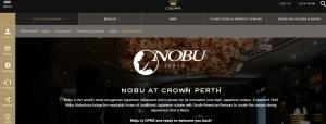 nobu sushi in perth