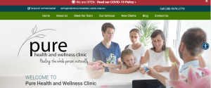 pure health and wellness clinic in perth