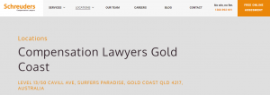 schreuders law firm in gold coast
