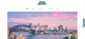 spring mountain water in sydney