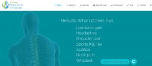 sydney chiropractic and massage