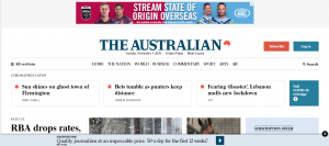 the australian news publication in melbourne