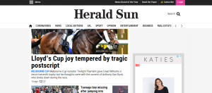 the herald sun publication in melbourne