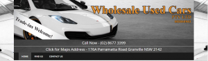wholesale used cars in sydney