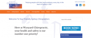 wynward chiropractic in sydney