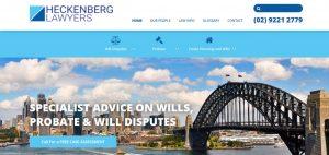 heckenberg lawyers in sydney