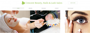 crescent beauty, nails, and lash salon in melbourne