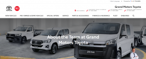 grand motors toyota in gold coast