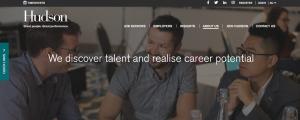 hudson recruitment agency in newcastle