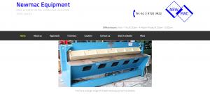 newmac equipment in melbourne