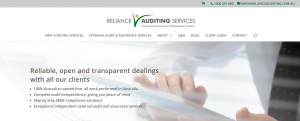reliance auditing in perth