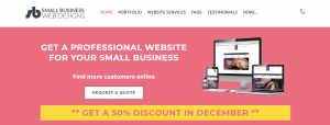 small business web designs in sydney