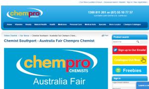 Australia Fair Chempro Chemist in gold coast