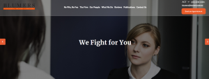 blumers law firm in canberra