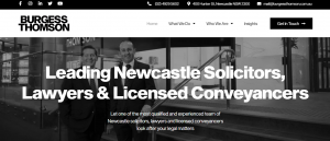 burgess thomson corporate lawyers in newcastle