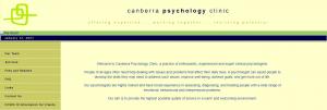canberra psychology clinic